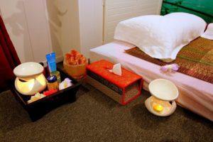 Thaimassage Massage-Duftöl